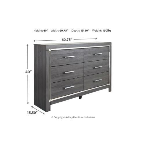 Signature Design By Ashley - B214 Dresser Only (Lodanna)