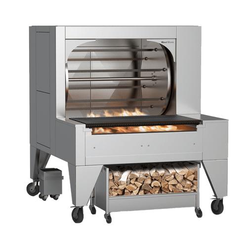 Woodstone - Mt. Olympus Solid Fuel Rotisserie