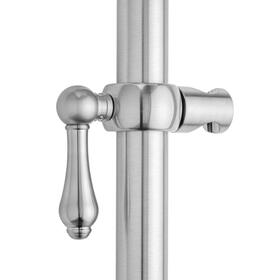 Tristan Brass - Regency Grab Bar Handshower Slider