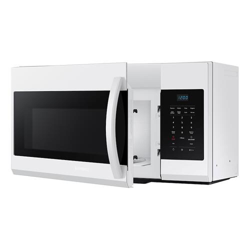 1.7 cu. ft. Over-the-Range Microwave in White