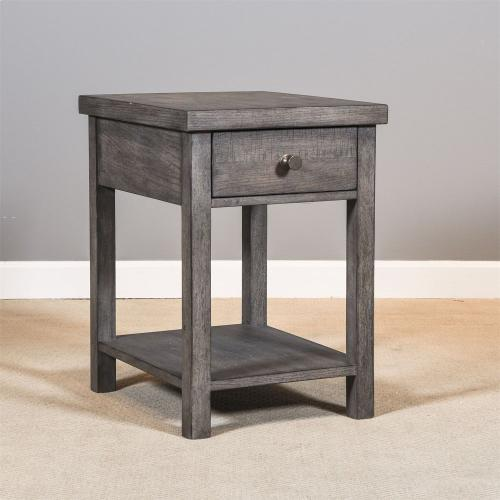 Drawer Chair Side Table