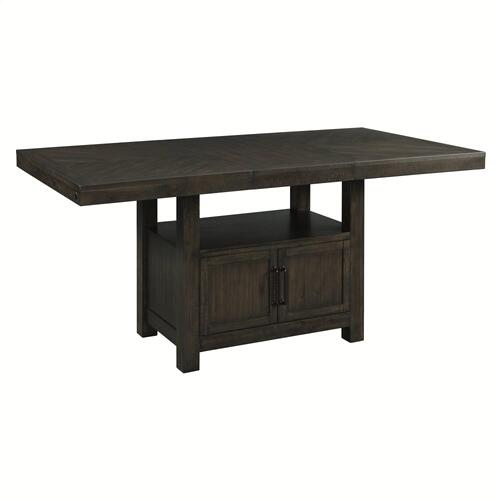 Colorado Counter Table, Wine Rack, 4 Stools, and Bench