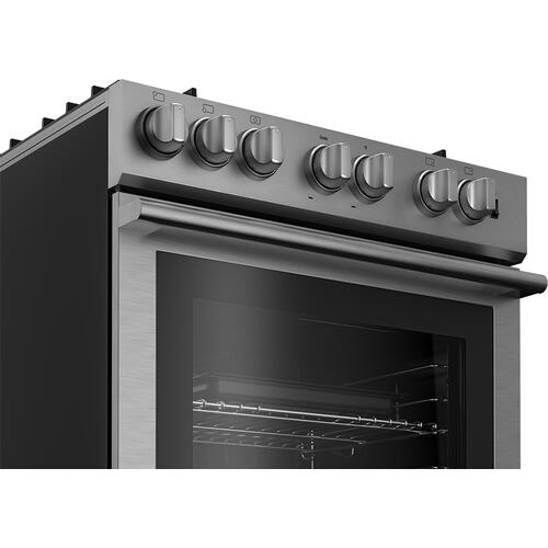 Blomberg Appliances - 30in Gas 5 Burner range, slide-in style