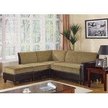 "LOVE SEAT/COCOA & BROWN 48""Wx32""Dx32""H"