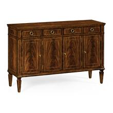 Regency style mahogany sideboard with four doors