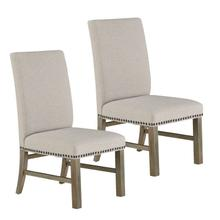 View Product - Trenton 2-Pack Upholstered Side Chairs, Sand