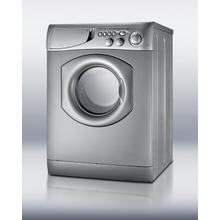 See Details - Front-loading washer/dryer in platinum finish
