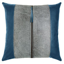 See Details - Retired Tanner Pillow, BLUE, 22X22