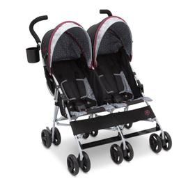 Jeep® Scout Double Stroller - Lunar Burgundy (0981)