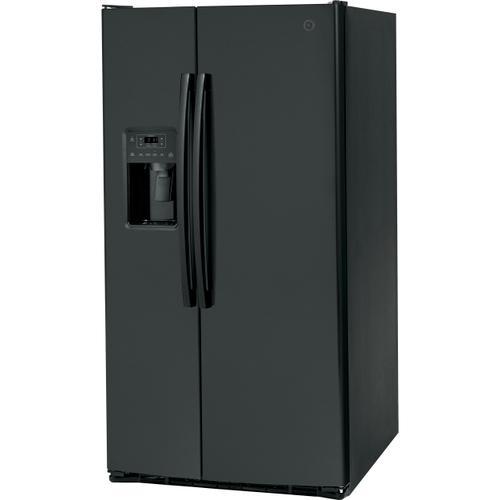 GE Appliances - GE® ENERGY STAR® 25.3 Cu. Ft. Side-By-Side Refrigerator