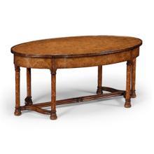 """Gothic"" walnut coffee table"