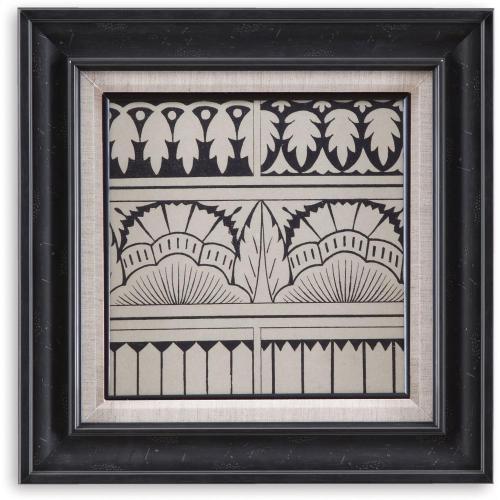 Bassett Mirror Company - Ornamental Tile Motif VII Wall Art