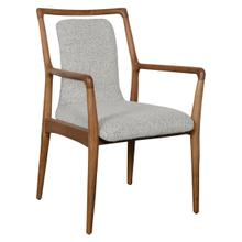 See Details - Sanders Upholstered Dining Arm Chair