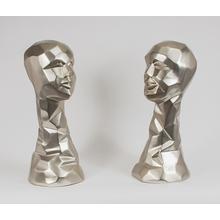 "View Product - ""Ella"", Silver 9x8.5x20.5"""