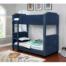 7601 Upholstered Bunk Bed