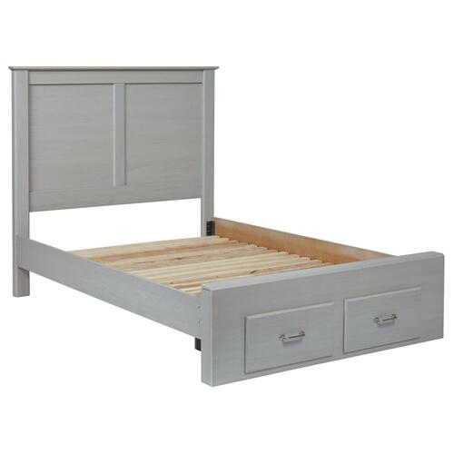 Ashley Furniture - Arcella Full Panel Bed With Storage