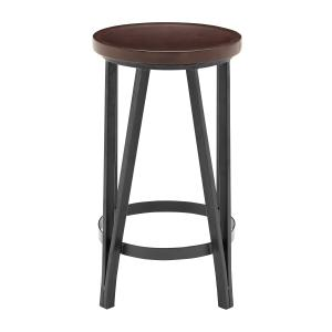 Adjustable Metal Barstool