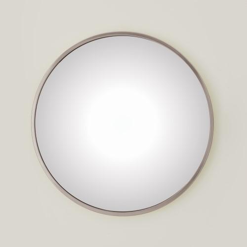 Hoop Convex Mirror-Nickel-Sm