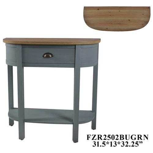 """Product Image - 31.5x13x32"""" CONSOLE TABLE, 1 PC PK, 2.85'"""