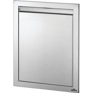 """Napoleon Grills18"""" x 24"""" Reversible Single Door , Stainless Steel"""