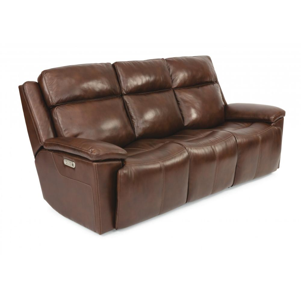 Chance Power Reclining Sofa with Power Headrests