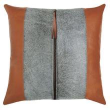 Tanner Pillow, BROWN, 22X22