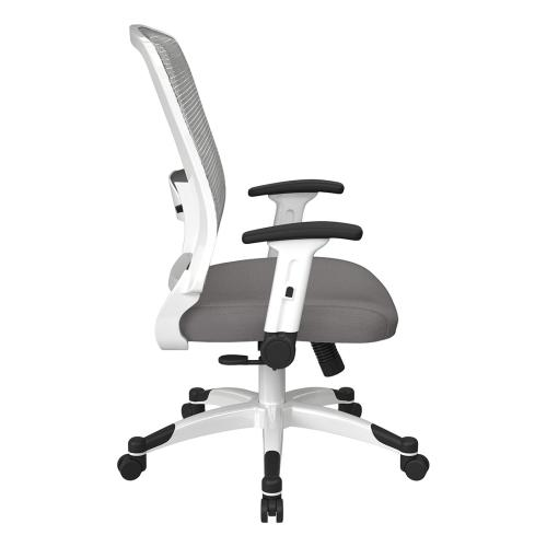 Space Seating White Frame Managers Chair
