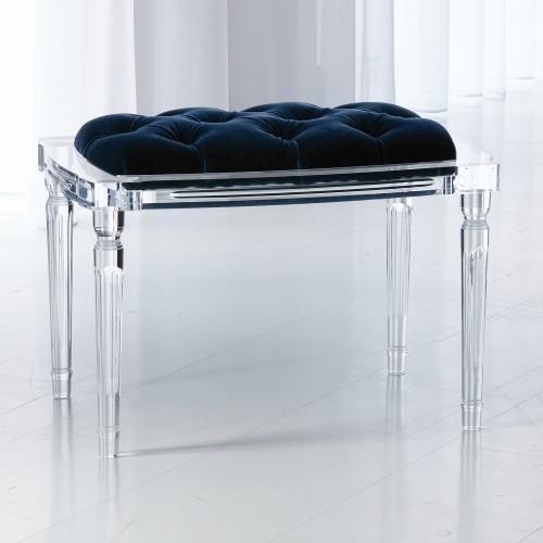 Marilyn Acrylic 4 Leg Bench-COM