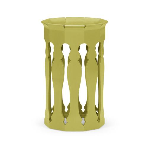 Moorish lamp table (Split Pea)