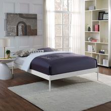View Product - Elsie King Bed Frame in White
