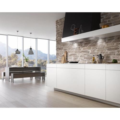 Miele - DA 2690 AM Insert ventilation hood with energy-efficient LED lighting and backlit controls for easy use.