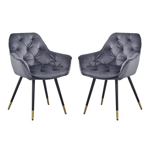 A & B Home - S/2 Dining Chair