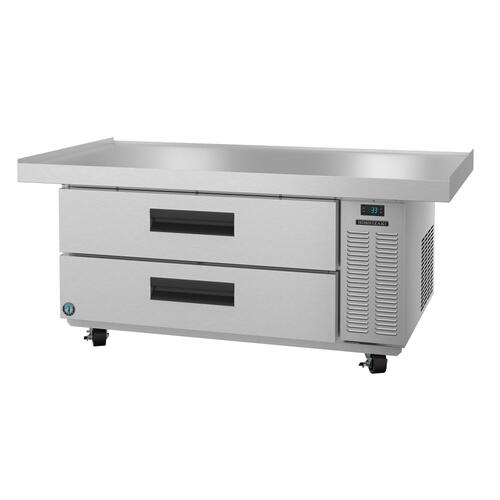 CR60A, Refrigerator, Single Section Chef Base Prep Table, Stainless Drawers