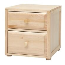 2 Drawer Night Stand : Natural