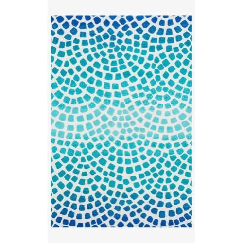 Hcd09 Aqua / Blue Rug