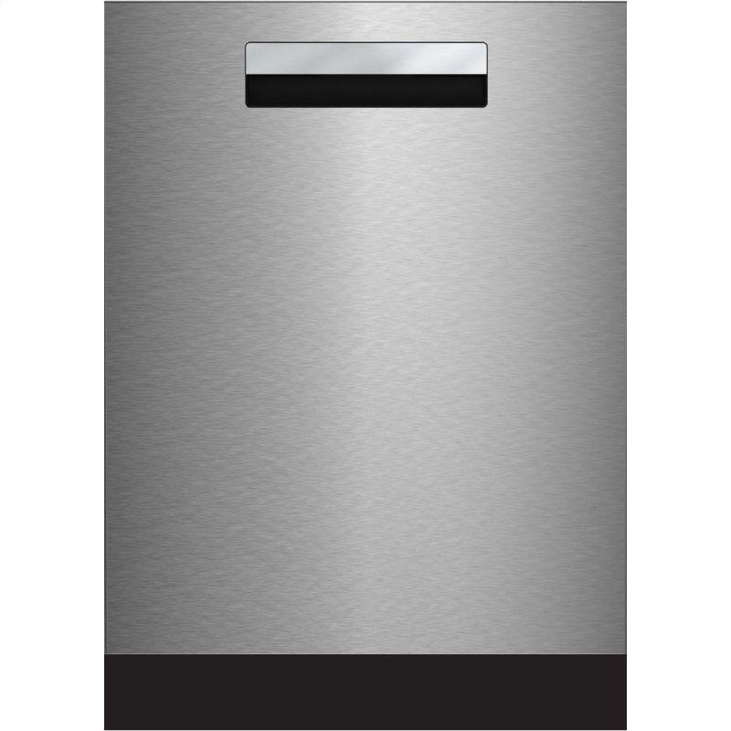 Tall Tub Integrated Handle Dishwasher 8 cycles top control 3rd rack stainless 45dBA