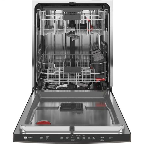 GE Profile™ Top Control with Stainless Steel Interior Dishwasher with Sanitize Cycle & Dry Boost with Fan Assist
