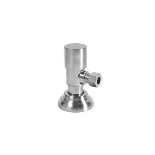 Mountain Plumbing - Round Handle Angle Valve - French Gold