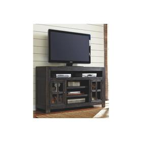 Gavelston LG TV Stand W/fireplace Option Black