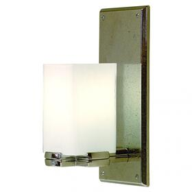 Truss Sconce - Square Globe - WS416 Silicon Bronze Rust
