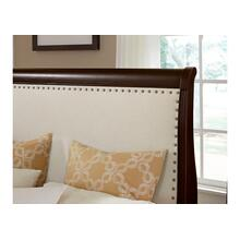 Upholstered Bed with Footboard Storage Queen & King