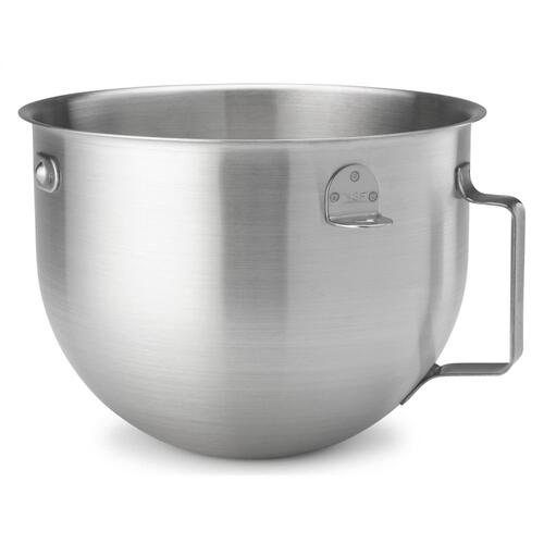 KitchenAid - 5 Quart NSF Certified Brushed Stainless Steel Mixing Bowl - Other