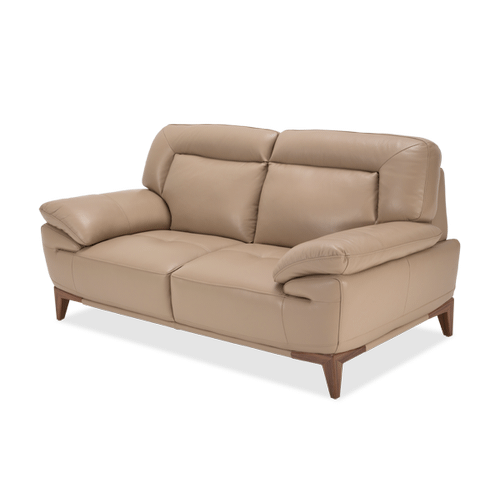 Turano Loveseat Light Walnut