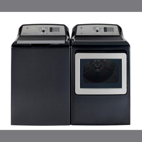 GE 7.4 Cu.Ft. Top Load Energy Star Electric Dryer Diamond Grey GTD65EBMKDG