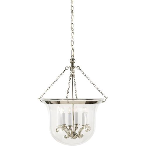 Visual Comfort CHC2110PN E. F. Chapman Country 6 Light 21 inch Polished Nickel Foyer Pendant Ceiling Light