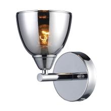 See Details - Reflections 1-Light Wall Lamp in Polished Chrome with Chrome-plated Glass