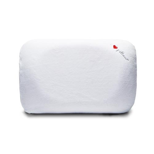 I Love Pillow - Contour Profile Queen Traditional Pillow