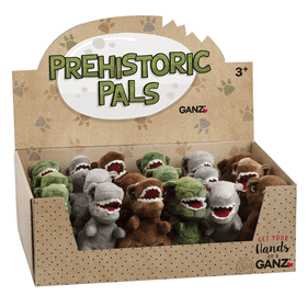 Prehistoric Dinos (18 pc. ppk.)