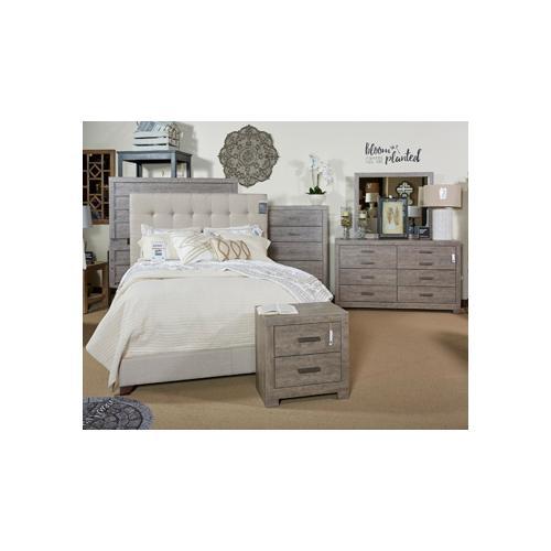 Ashley Furniture - Ashley Furniture B070 Culverbach - Gray Bedroom Set Houston Texas USA.