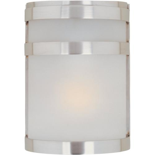 Arc LED 1-Light Outdoor Wall Sconce